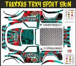 Circus Of Destruction Themed Vinyl SKIN Kit & Stickers Fits R/C Traxxas TRX4 Sport Rock Crawler